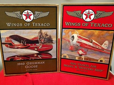Wings Of Texaco 4th and 5th in Series Grumman Goose  & Travel Air Model R Myst.