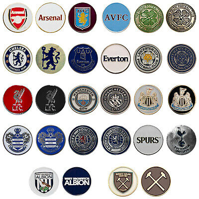 Premier Licensing Double Sided Soft Enamel Golf Ball Marker Official Football