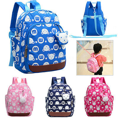 AU Children Backpack Anti-lost Bag Anti Lost Kids School Bags Safety Boy Girls
