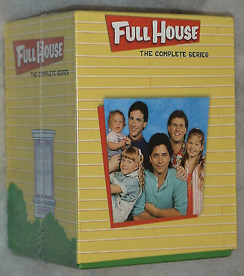 Full House Complete Series Collection - Seasons 1,2,3,4,5,6,7,8 - 32 DVD Box Set