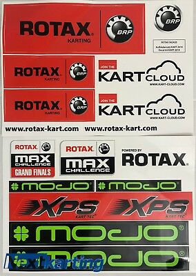 Rotax Max Kart Sticker Pack - Tony Kart - Crg - Nextkarting -