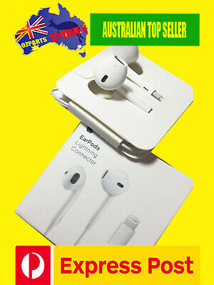 ORIGINAL APPLE iPHONE 7 7+ 7plus 8 8+ X EARPODS HEADPHONE EARPHONES Latest Model