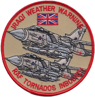 RAF Operation Telic Gulf War Tornado Embroidered Patch ** LAST FEW **