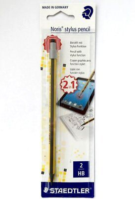 Staedtler Noris Stylus Pencil 2 in 1 with 2 HB Lead Touchscreen