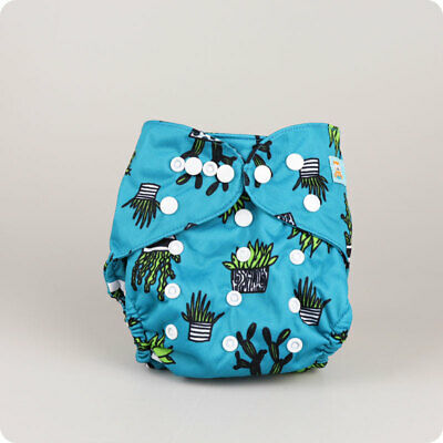 Alva Baby One Size Nappy Cover | Reusable Cloth Waterproof Nappy Cover | UK