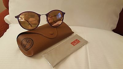 9ffbd080d RAY-BAN RB 4242 6034/2Y Violet Copper Mirror Light-Ray Sunglasses ...