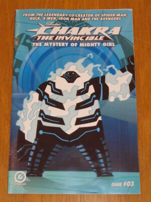 Chakra Invincible Mystery Of Mighty Girl #3 Graphic India Comics 2017