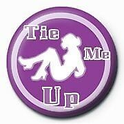 Tie Me Up Badge CLEARANCE SALE