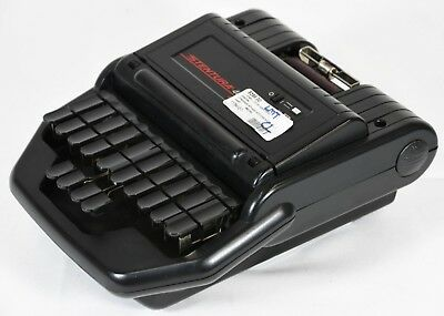 Stentura 400 SRT Electric Stenograph Rolling Case Pack with Cables and Powerpak