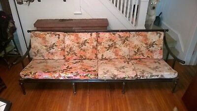 Tommi Parzinger Mid Century Modern MCM Pavilion Collection Large Sofa Bamboo