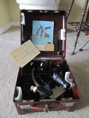 Marine Sextant No 41141 C-PLATH Hamburg West Germany Nautical