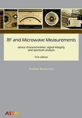 RF Microwave Measurements Device Characterization Signal In by Mariscotti Andrea