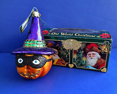 Witch's Hat (26078) Old World Christmas Halloween Ornament $4.30 ...