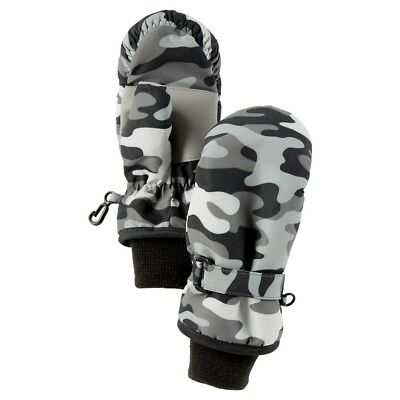 Toddler Boys Carter's Thinsulate Insulated Camo Camouflage Gloves Mittens 2t-4t