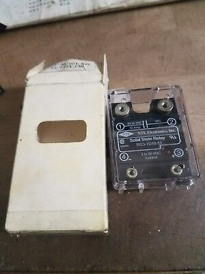 NEW NTE Electronics Solid State Relay RS3-1D10-513 - 32 VDC Industrial