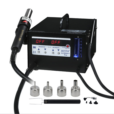 Aoyue 852A ++ SMD Digital Hot Air Soldering Station with Vacuum Pickup