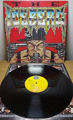 Ice T - The Iceberg Feedom of Speech Vinyl LP Album Original 1989