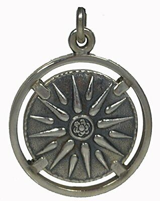Star of Macedonia Silver Pendant 925 - Alexander the Great -Vergina Sun Star