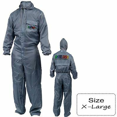 DeVilbiss DC-OV-XL X-Large Pro Washable Spray Painter's Paint Overalls + Logo