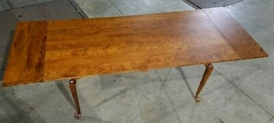 David T Smith Custom Curly Maple Dining Table + (2) Leaves *SHIPPING AVAILABLE*