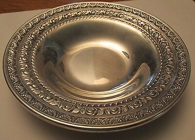 Vintage Silver plate dish - marked Wallace 5100-  6.5 inches- Price reduced