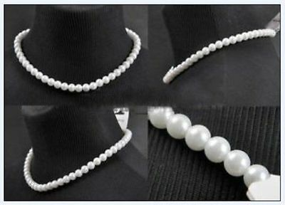 2018 Fashion women's White man-made Pearl Necklace Jewelry Pendant