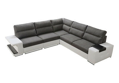 schlafcouch bettkasten wohnlandschaft sofa ecke couch ecksofa pm vecimaxi05 eur 898 87. Black Bedroom Furniture Sets. Home Design Ideas