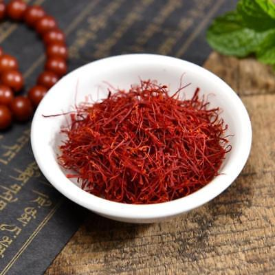 Dry Saffron Flower Natural Pure Spice Kasubha Health Herbal 5/10g