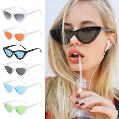 Unisex Womens Mens Retro Vintage Cat Eye Glasses Fashion Outdoor Sunglasses