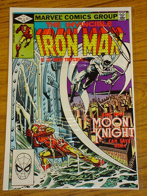 Ironman #161 Vol1 Marvel Comics Moonknight Apps August 1982