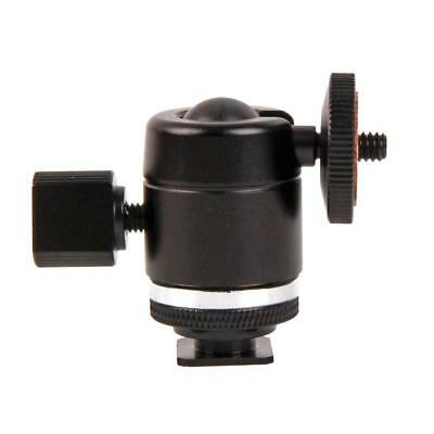 "1/4"" Screw Tripod Ball Head Bracket Holder Mount Ballhead for DSLR Camera DV"