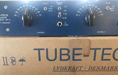 Tube Tech MP-1A Stereo Tube Preamp - Fabulous Condition - Just been all checked