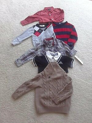 Toddler boy clothes 24 months 2t 6 piece lot Fall Winter EUC & NWT