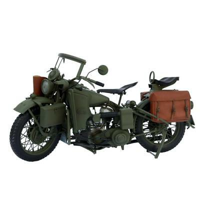 12'' Action Figure Accessories World War II US Army Motorcycle 1/6 Scale