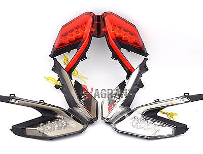 LED Tail Light Integrated Turn Signals Blinker Ducati 899 959 1199 1299 Panigale
