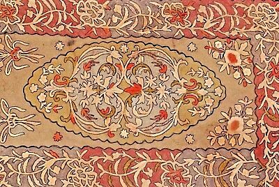 18th C. French Embroidery/Needlework Panel