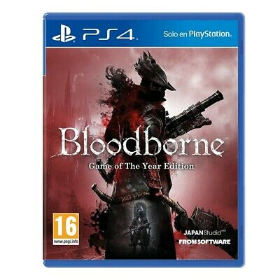 Bloodborne Game Of The Year Edition Ps4 Videojuego Físico Para Playstation 4