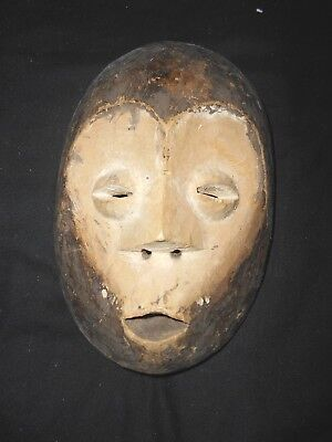 small vintage African Tribal Lega mask ..........Congo