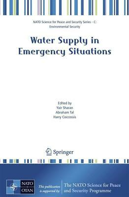 Water Supply in Emergency Situations - 9781402063046 PORTOFREI