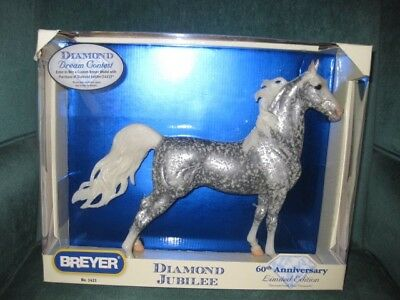 """Breyer Horse Collectible """"Diamond Jubilee"""" 60th Anniversary Limited Edition"""