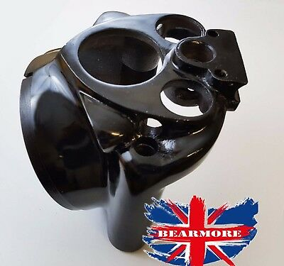 Royal Enfield Headlight Light Headlamp Body Frame Casing Case Black Paint  @Uk