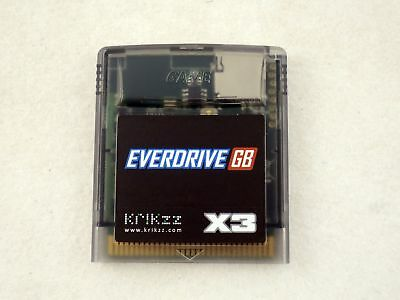 New Everdrive GB X3 for Game Boy, GBC Gameboy Color (Official Krikzz) US Seller