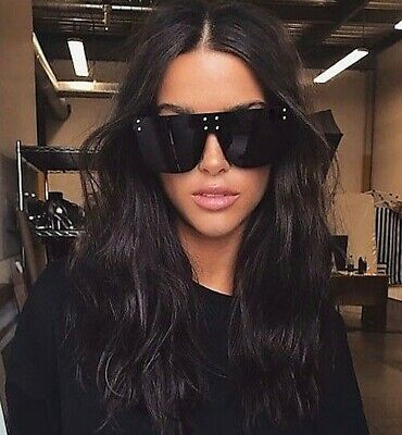 "XXL OVERSIZED ""over the hills "" Women Sunglasses Aviator Flat Top Square GAFAS"