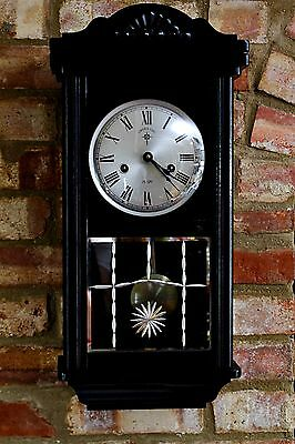 Vintage 'C.Wood & Son' 15-Day Wall Clock with Chimes