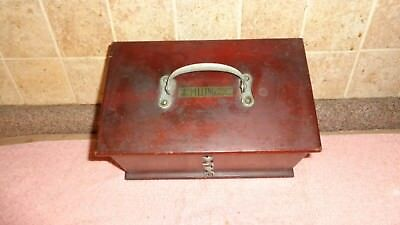Antique Pilling-Made Philadelphia Battery Quack Medical - Wood Box With Handle