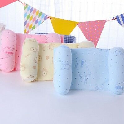 Infant Newborn Baby Anti Roll Pillow Sleep Prevent Flat Head Cushion Positioner