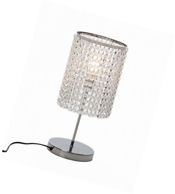 Surpars House Elegant Crystal Silver Table Lamp 33 05 Picclick