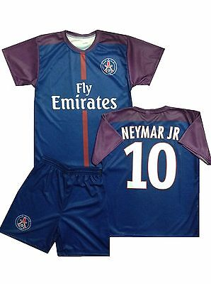 Paris Fanshirt & Shorts Set kinder trikot shirt NEYMAR