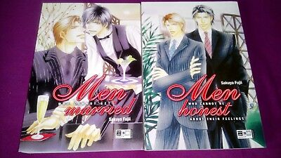 Men who cannot be honest about .. Men who cannot get married Sakuya Fujii YAOI