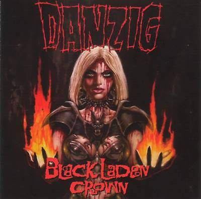 DANZIG - BLACK LADEN CROWN (2017) =RARE= CD Jewel Case+FREE GIFT Heavy Metal